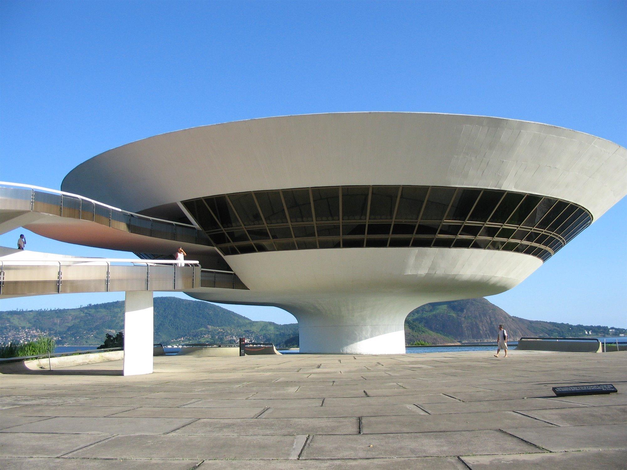 1996 Niteroi Oscar Niemeyer
