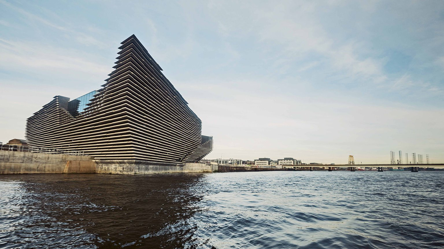 2018 V&A Museum of Design Dundee in Dundee