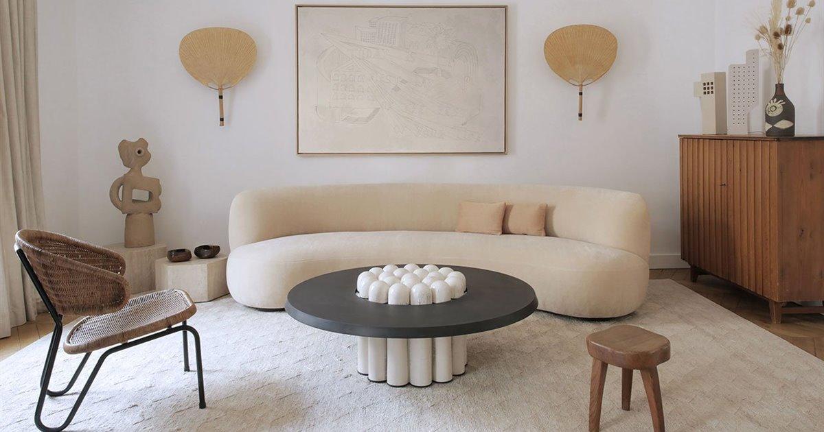 La artesanía es la protagonista de la reforma de este apartamento parisino en un edificio haussmanniano