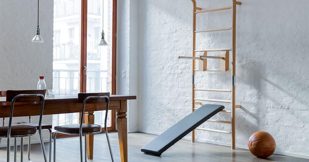 Esto es todo lo que necesitas para montar tu gimnasio en casa