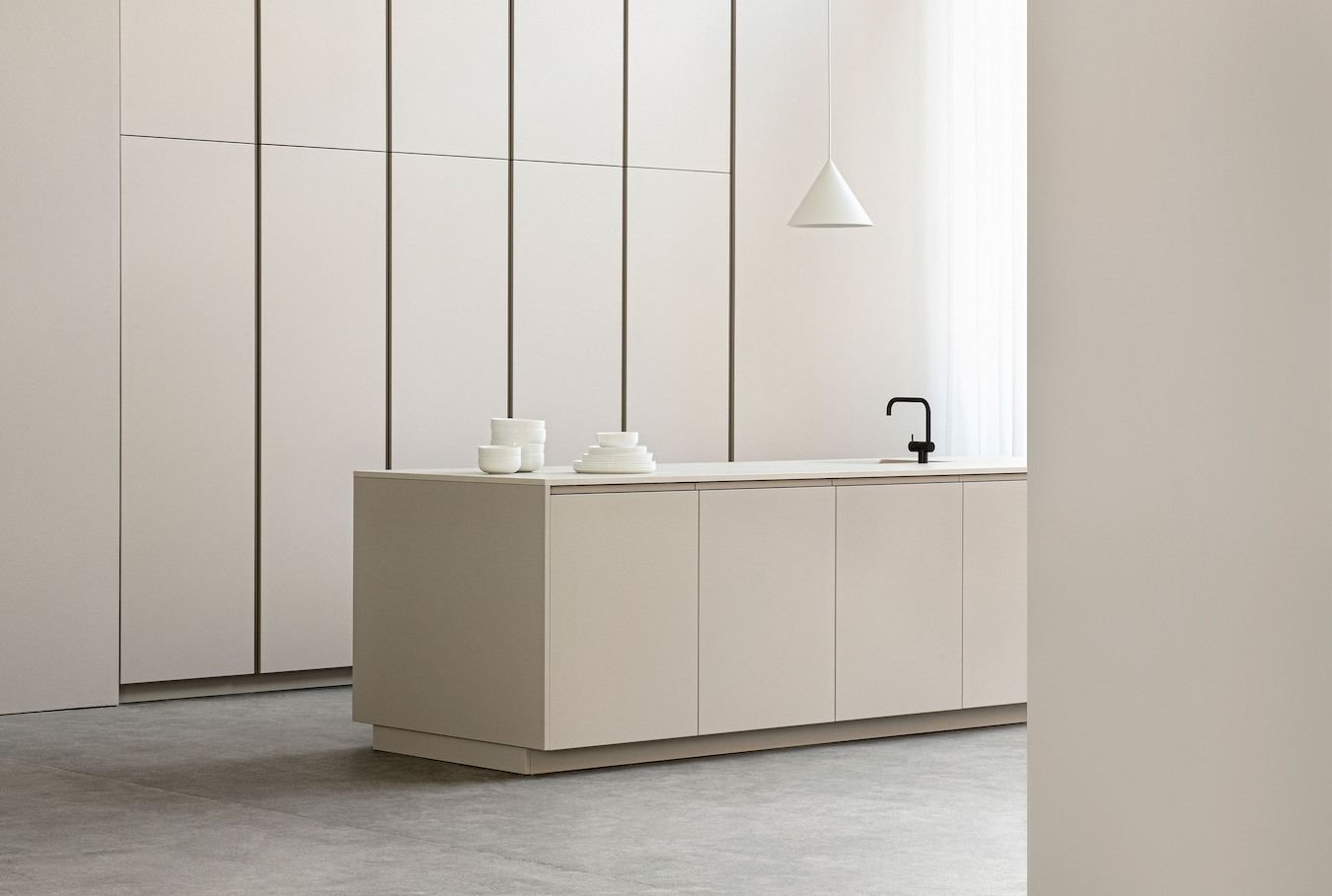 cocina blanca profile normarchitects