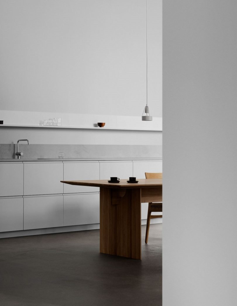 cocina gris profile normarchitects