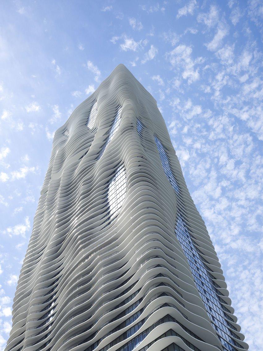 Aqua Tower de Studio Gang. Aqua Tower, Jeanne Gang