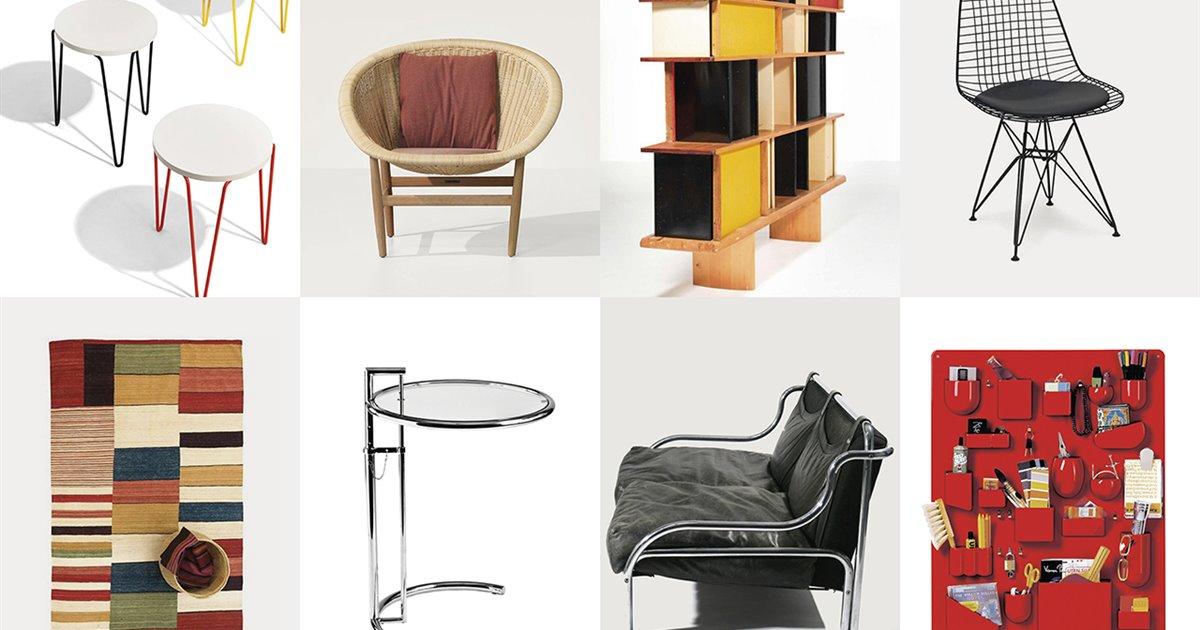 Muebles icónicos del diseño que fueron diseñados por mujeres