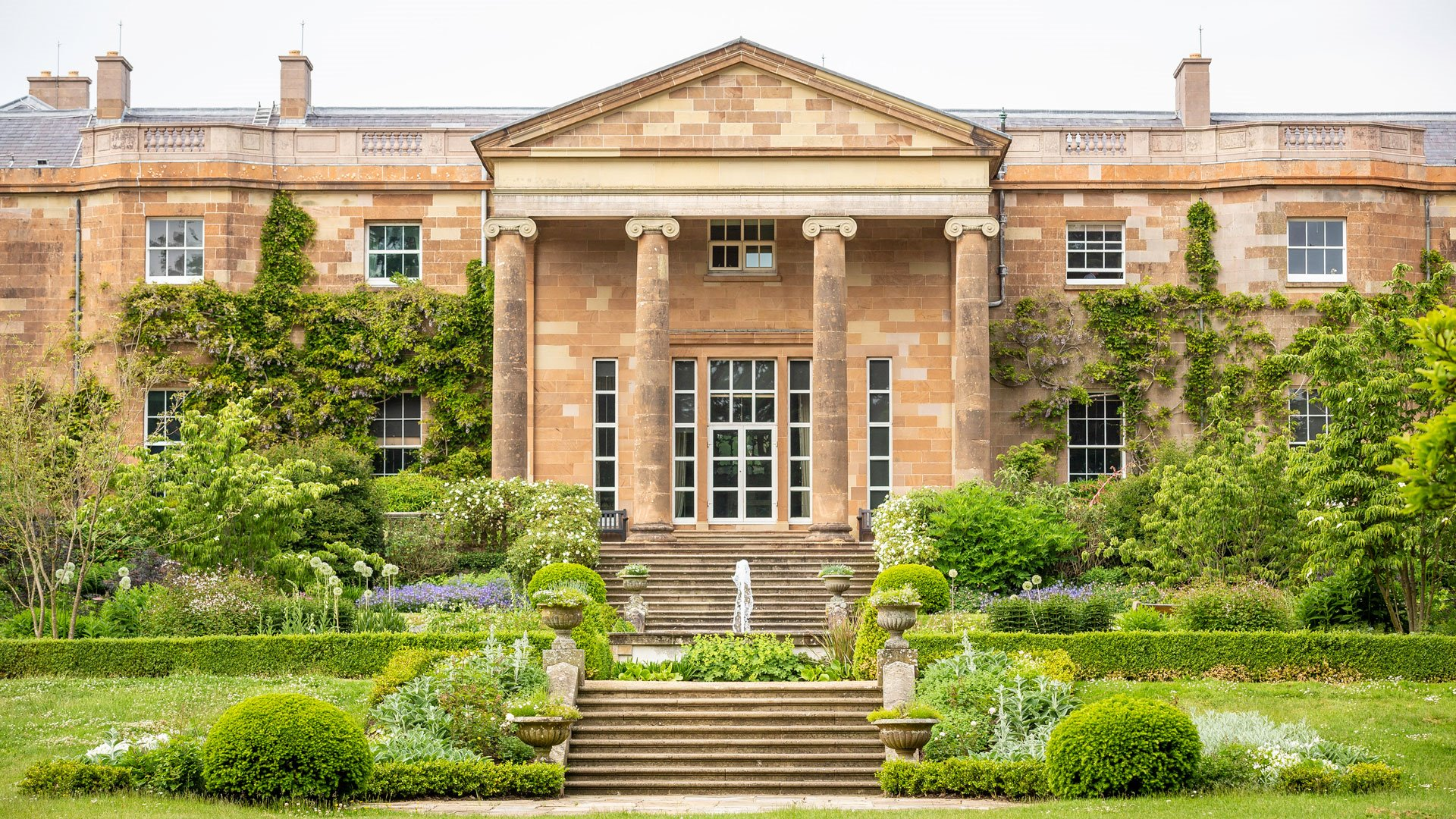 Hillsborough Castle casa de la familia britanica en escocia. Hillsborough Castle