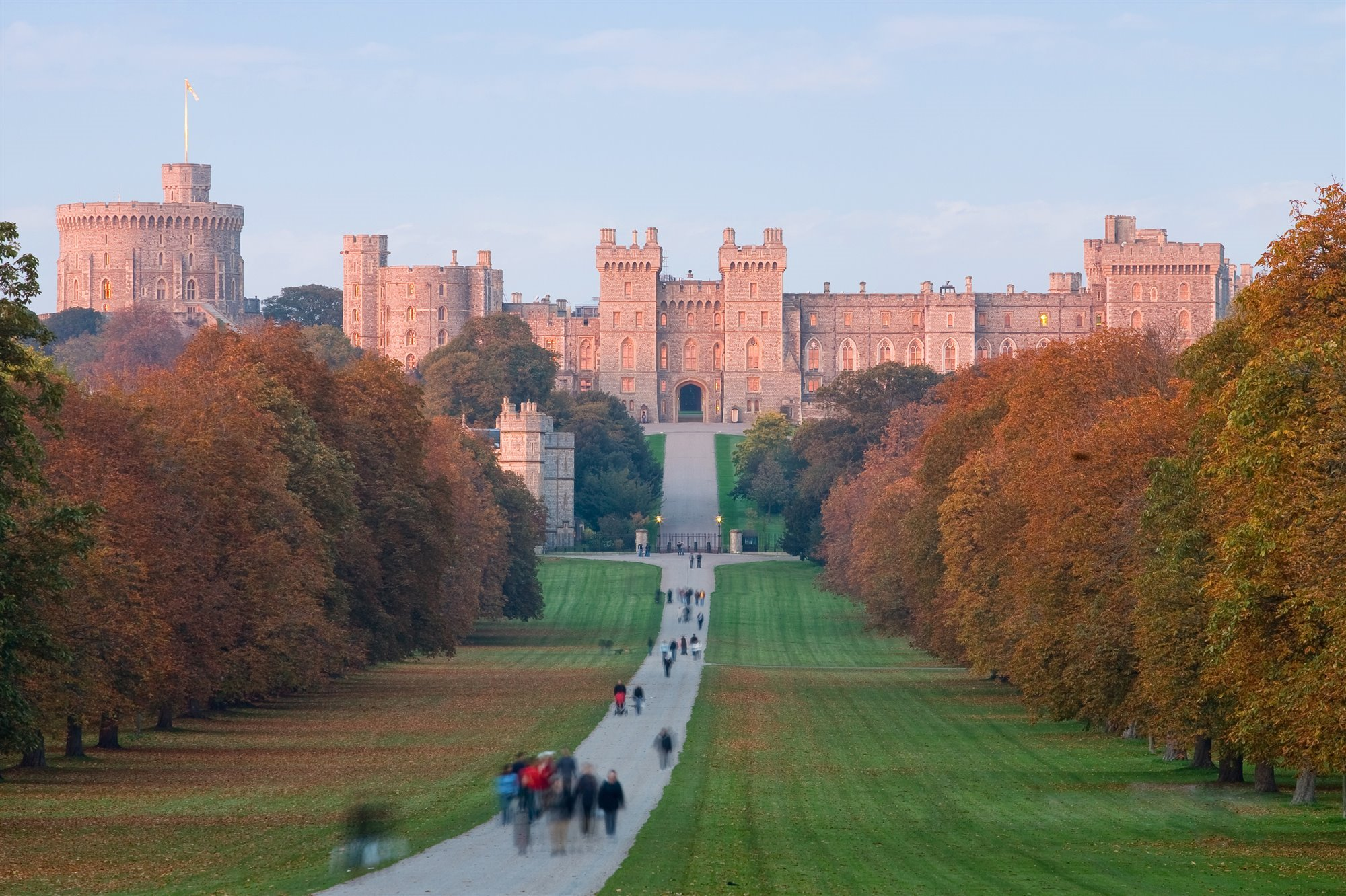 Windsor Castle casas de la reina de Inglaterra. Windsor Castle